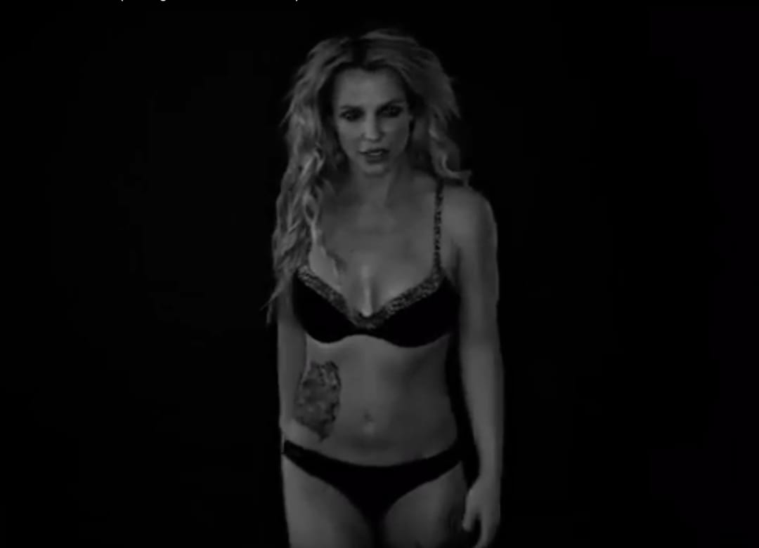 Britney Spears Is Tattooed, Practically Naked & Dancing