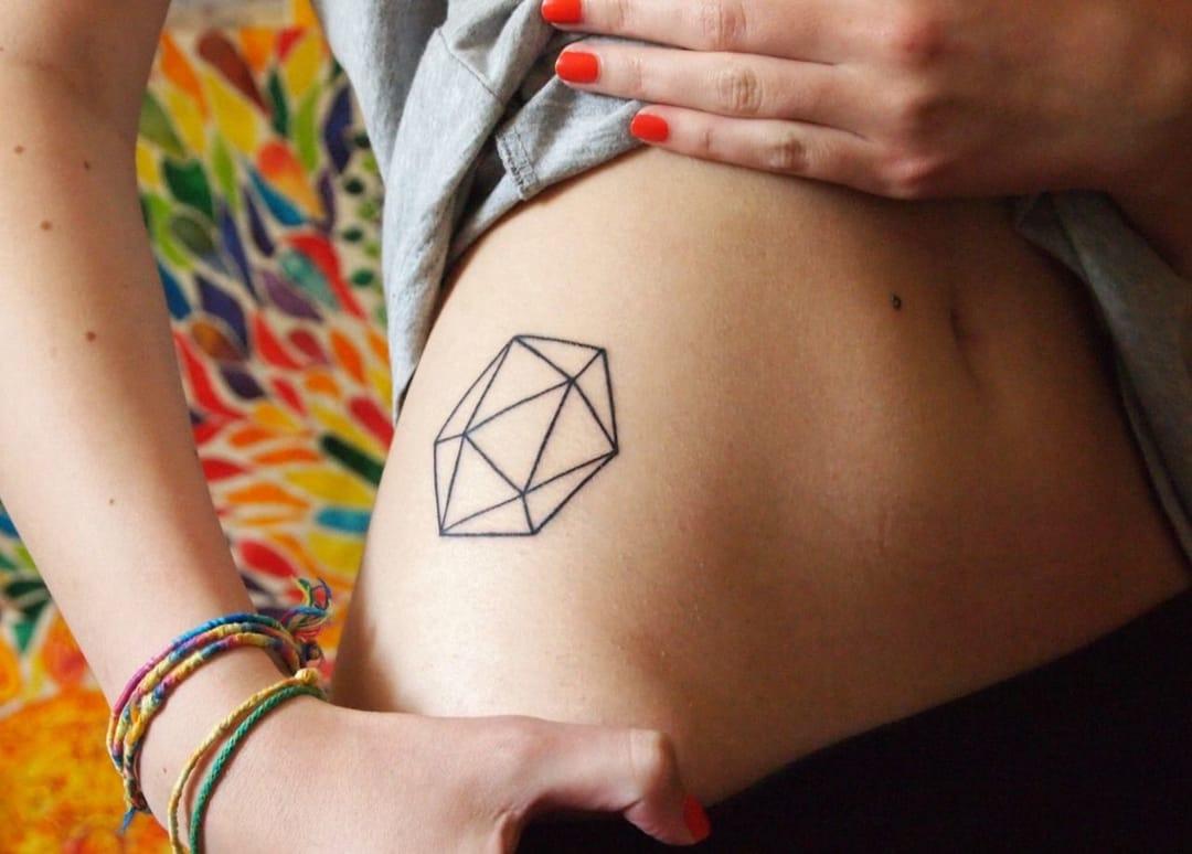 40 Flawless Geometric Tattoos