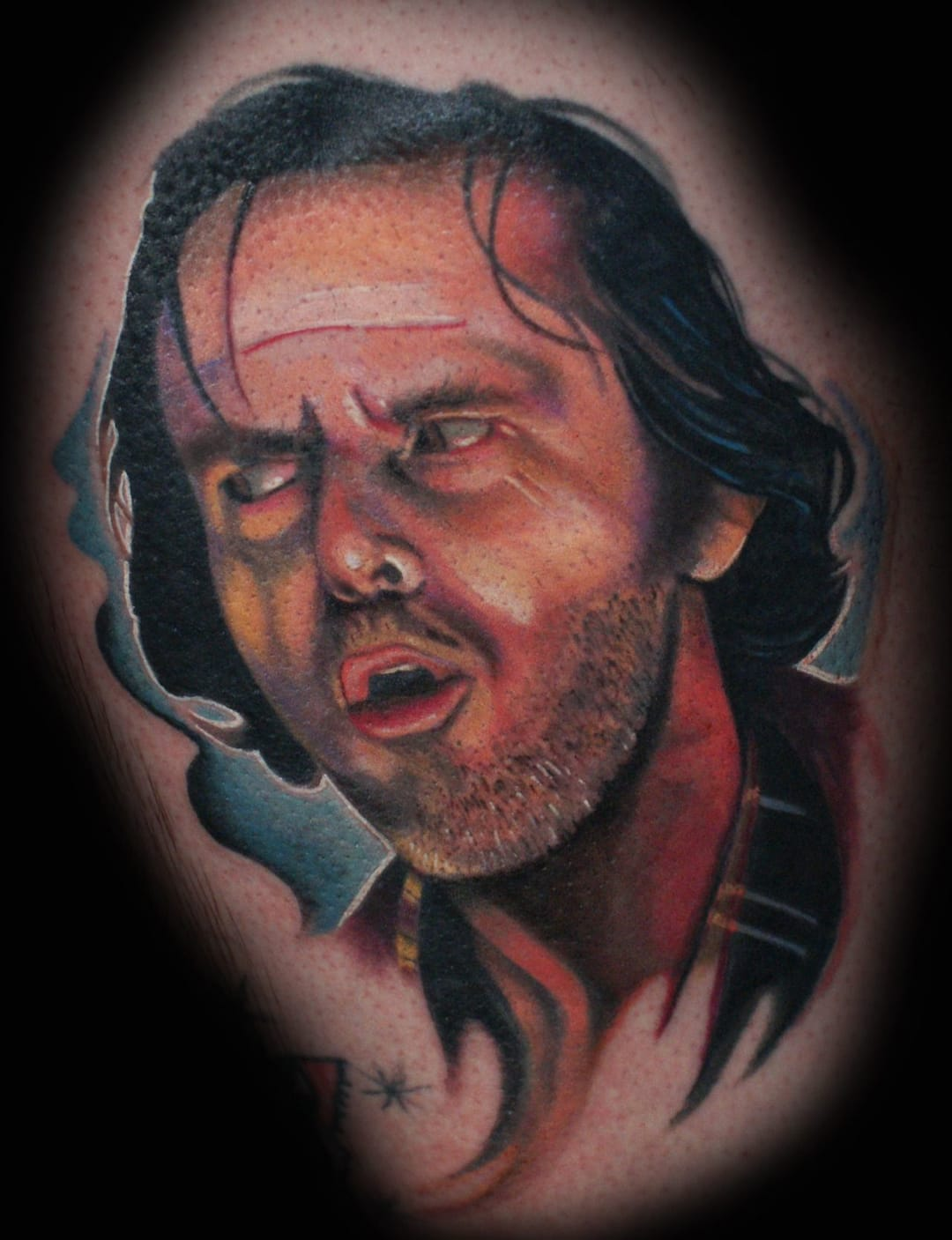 All work and no play makes Jack a dull boy ... by Krystof of Club Tattoo, Las Vegas.