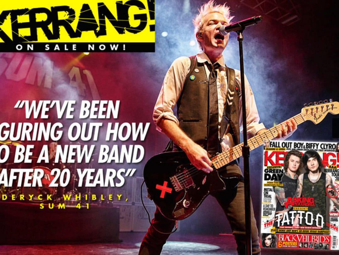 Sum 41 talks about their rebirth as a band via Kerrang!