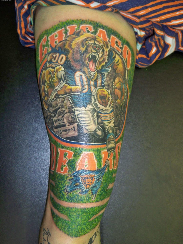 Chicago Bears Tattoo
