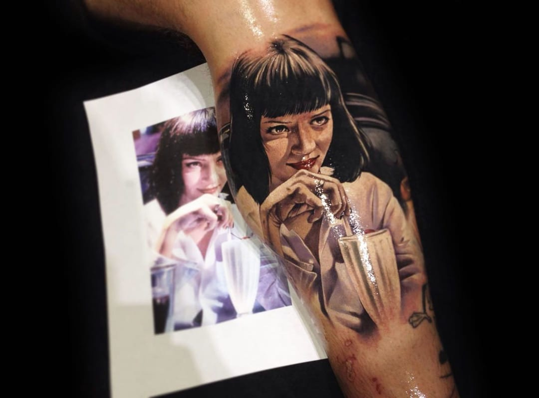 20 Realistic Tattoos by Benjamin Laukis