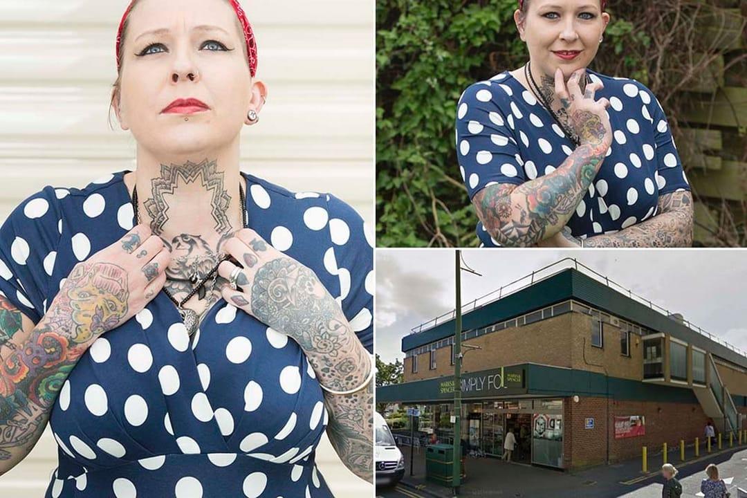 Mark' s and Spencer store, Natasha Henson