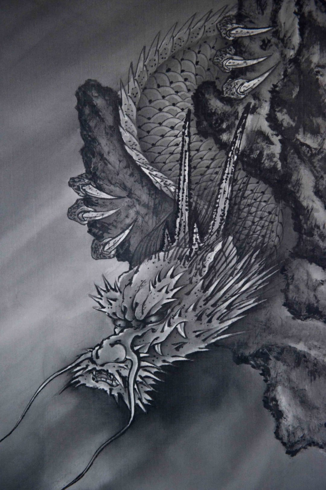 A piece of one of the famous artworks from master Horiyoshi III.