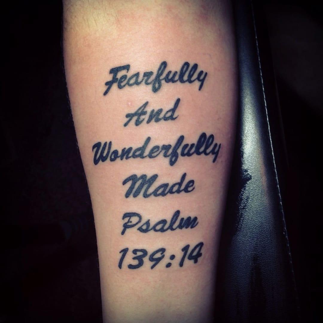 Bible Tattoos Part I Tattoodo