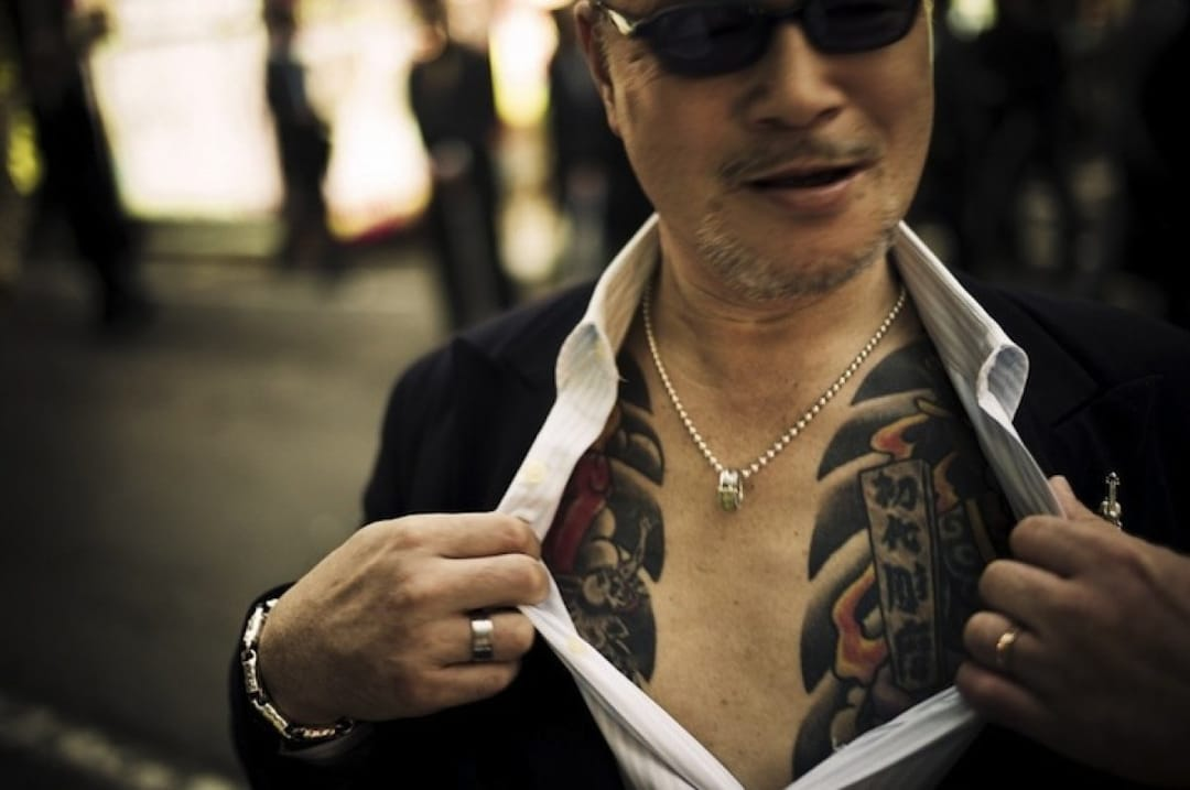 Banning tattoos in Japan