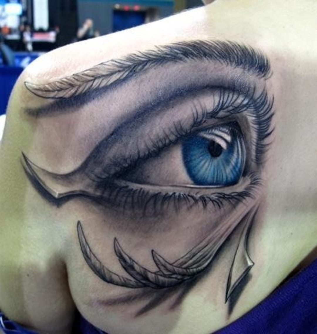 The eye of ra is a powerful protective symbol. Here in a stunning 3D realistic version by Stefano Alcantara.