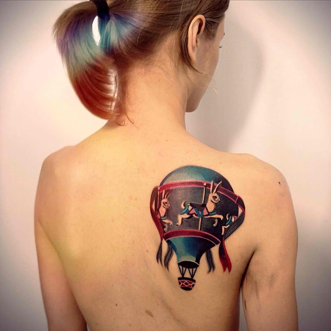 Quem ai curte tattoo de balão?